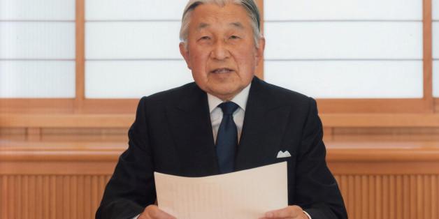 Der japanische Kaiser Akihito hat sich in einem Video an sein Volk gewandt und deutet eine Abdankung an