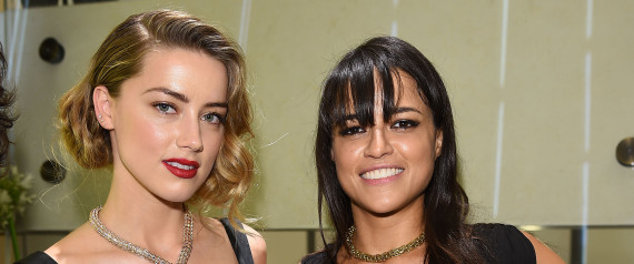michelle rodriguez and amber heard