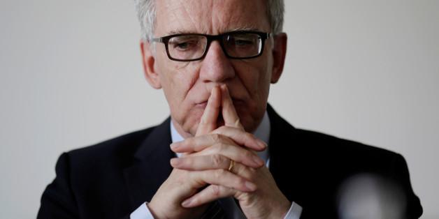 Der deutsche Innenminister Thomas De Maizière