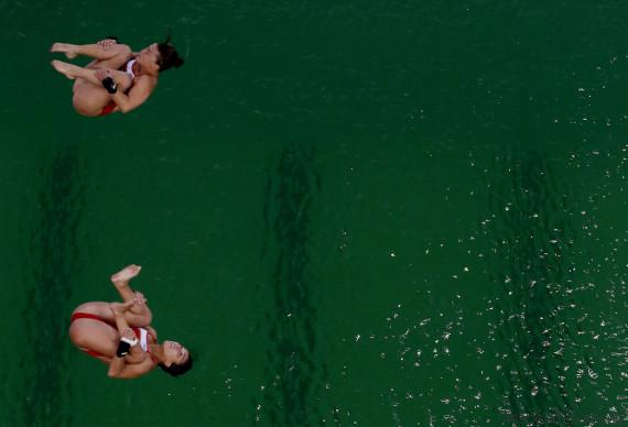 rio 2016 diving women