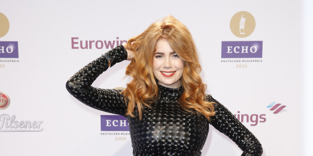 Palina Rojinski beim Echo-Award 2016 in Berlin
