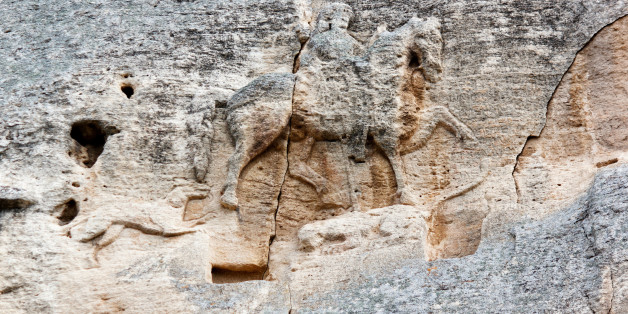 The Madara Rider is an early medieval large rock relief, Bulgaria, UNESCO World Heritage Site