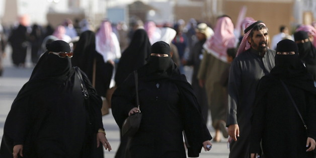 Saudi women arrive to attend Janadriyah Culture Festival on the outskirts of Riyadh, Saudi Arabia February 8, 2016. REUTERS/Faisal Al Nasser