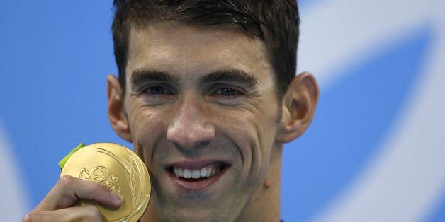 Michael Phelps gewinnt bei den Olympischen Spielen 2016 seine 21. Goldmedaille
