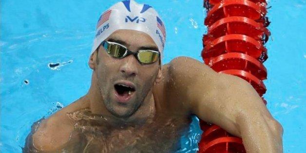 Le nageur Michael Phelps a gagné 3,5 fois plus de médailles d'or que le Maroc aux JO depuis 1960