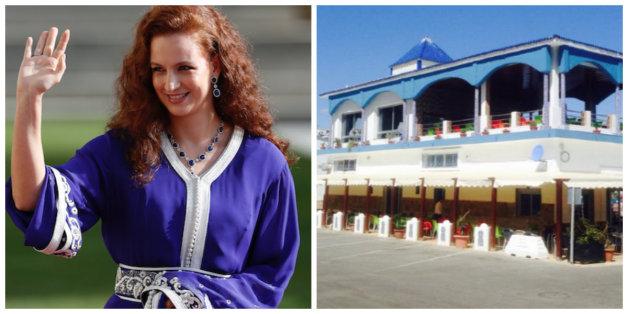 La princesse Lalla Salma aperçue dans un petit restaurant de poissons à M'diq