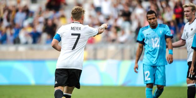 Zweistellig! Deutsches Olympia-Fußballteam führt 10:0