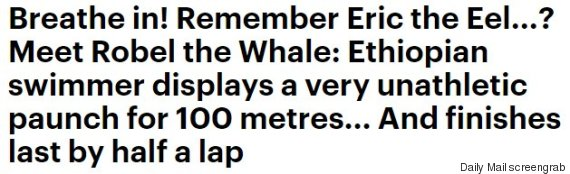 daily mail headline