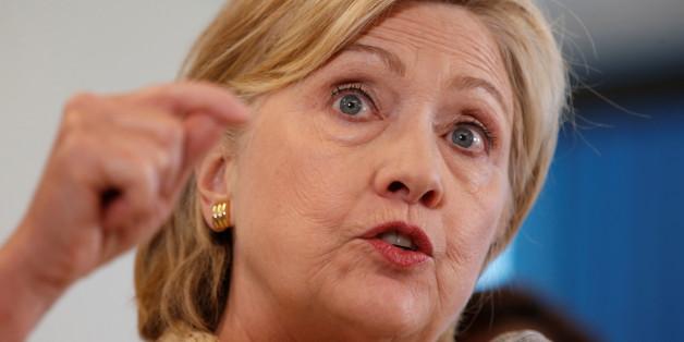 Die demokratische Präsidentschaftskandidatin Hillary Clinton