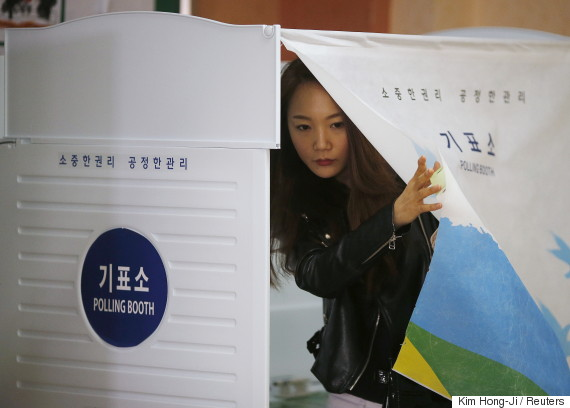 korea vote