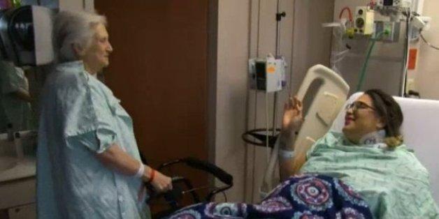 Diese Großmutter rettete eine Frau, die einen Tag zu leben hatte - doch das Schönste kommt noch