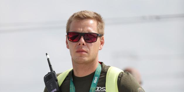 Der deutsche Kanu-Trainer Stefan Henze