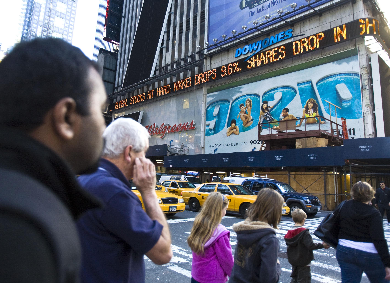 2008 financial crisis ticker