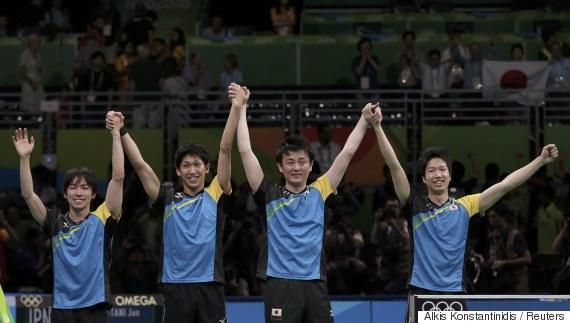 table tennis rio japan
