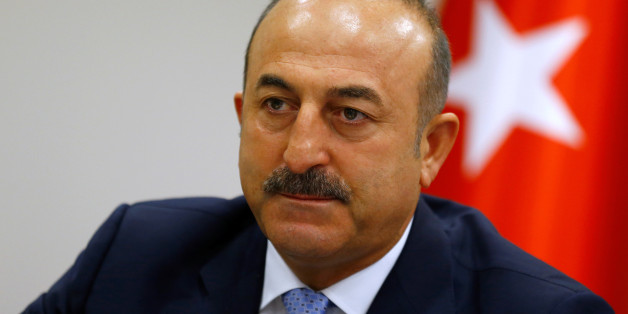 Turkey's Foreign Minister Mevlut Cavusoglu addresses the media in Ankara, Turkey, July 29, 2016. REUTERS/Umit Bektas