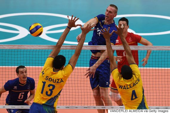 brazil france volleyball