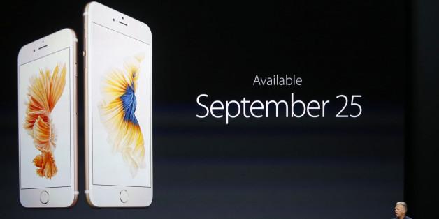 Der Release des iPhone 6s im Jahr 2015