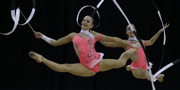 Pourquoi il n'y a pas d'hommes aux épreuves de gymnastique rythmique