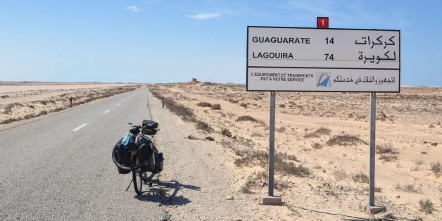 Le Maroc entame le goudronnage d'une route à Guerguerat, près de la Mauritanie