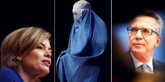 Die Burka-Debatte spaltet die CDU