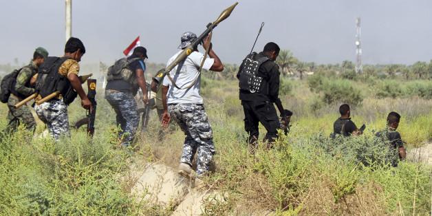 Kämpfer gegen den IS im Irak