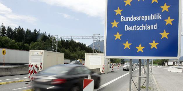 Grenzübergang zu Deutschland