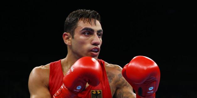 Artem Harutyunyan boxt im Olympia-Viertelfinale