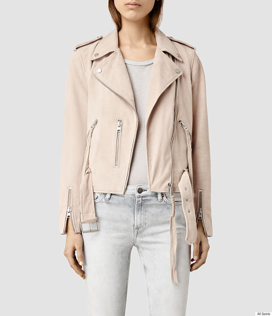 all saint suede jacket
