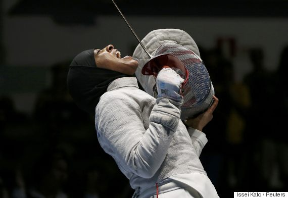 ibtihaj muhammad fencing