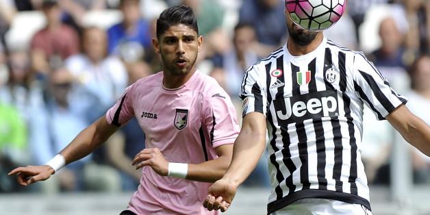 Achraf Lazaar évolue au club de Palerme (Italie)