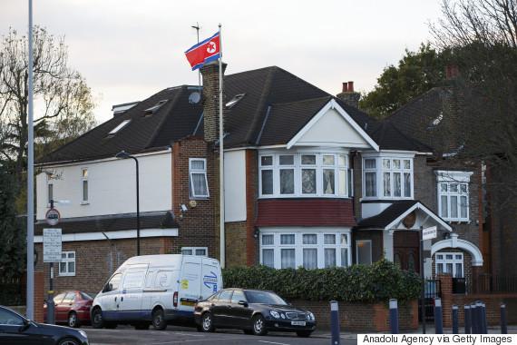 london north korea embassy