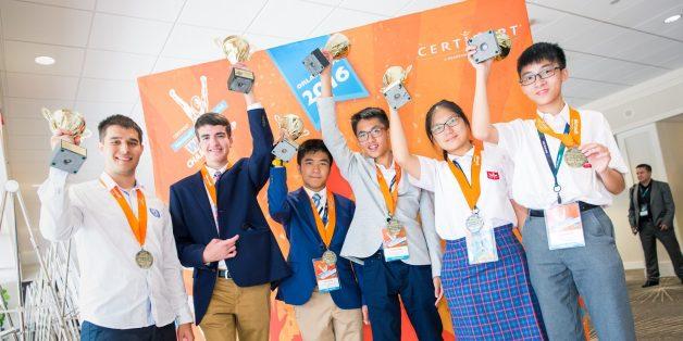 Pendant que des athlètes sont réunis à Rio pour les olympiades, d'autres concourraient pour le titre de champion du monde de Powerpoint.