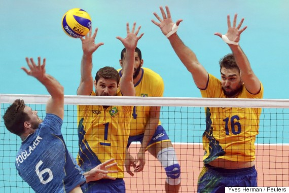 brazil argentina volleyball