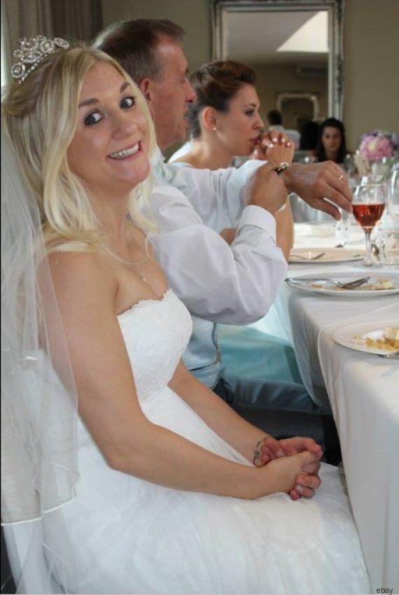 Für das Brautkleid dieser Frau bieten Ebay-Nutzer 75.000 Euro ...