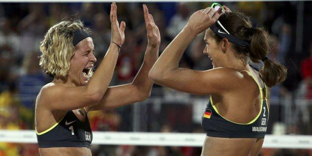 Laura Ludwig und Kira Walkenhorst gewannen Gold bei Olympia.