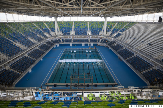 olympic aquatics stadium rio
