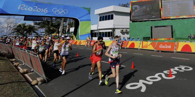 Heute starten die Athleten zu 50 Kilometer Gehen - auch im Live-Stream