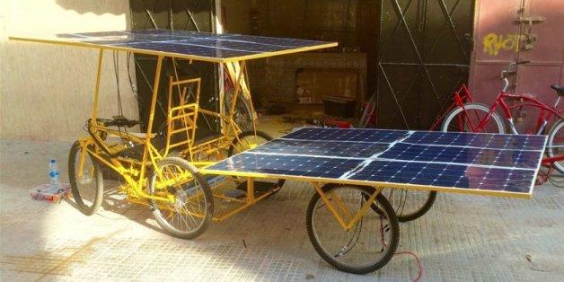 Ils créent un véhicule solaire pour les zones rurales marocaines