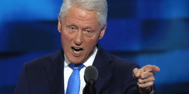 Bill Clinton könnte der First Gentleman der USA sein