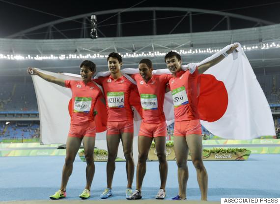 japan rio relay