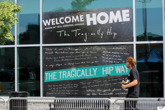 the tragically hip kingston