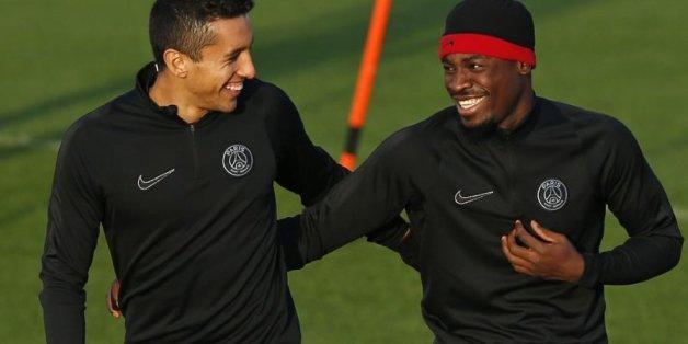"""La blague de Serge Aurier à son coéquipier Marquinhos le """"Marocain"""""""