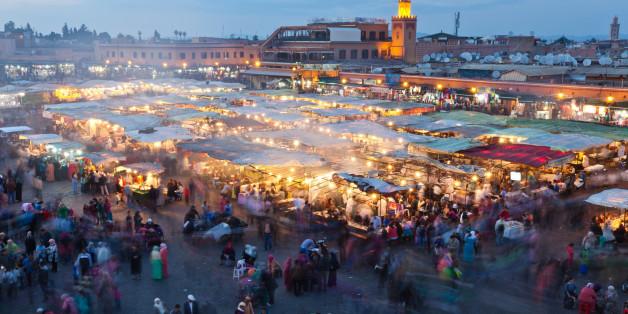 La place Jemaa El F'na de Marrakech