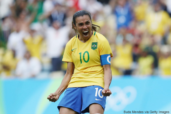 marta brazil soccer women team