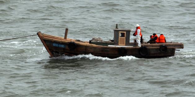 2011년 2월 서해상에서 표류해 남하한 북한 주민 27명(남성 9명, 여성 18명)이 타고 왔던 5t급 소형 목선.
