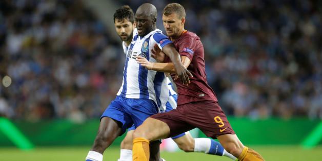 FC Porto - AS Rom im Hinspiel der Champions League Playoffs