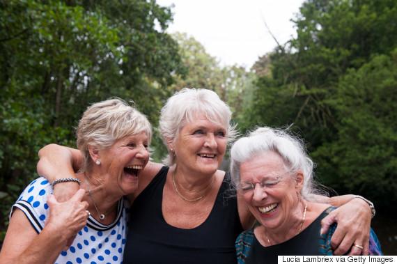 friends seniors