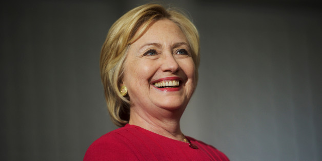 Democratic Presidential nominee Hillary Clinton holds a rally at West Philadelphia High School in Philadelphia, Pennsylvania August 16, 2016.  REUTERS/Mark Makela