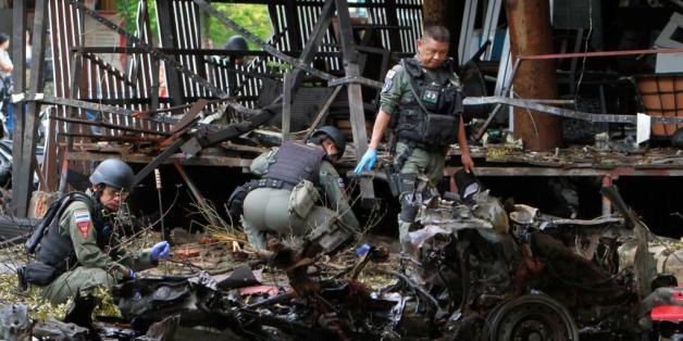 Un attentat à l'ambulance piégée fait un mort et 30 blessés en Thaïlande