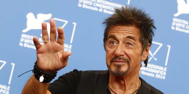 """Cast member Al Pacino poses during the photo call for his two movies """"The Humbling"""" and """"Manglehorn"""" at the 71st Venice Film Festival August 30, 2014. REUTERS/Tony Gentile (ITALY - Tags: ENTERTAINMENT)"""